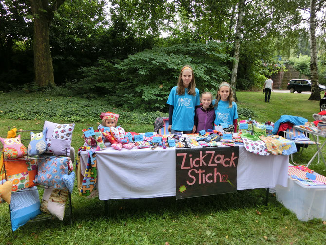 Unser Stand am Kinderfest
