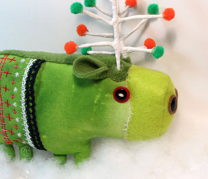 Hoy vienes muy navideño, Atka