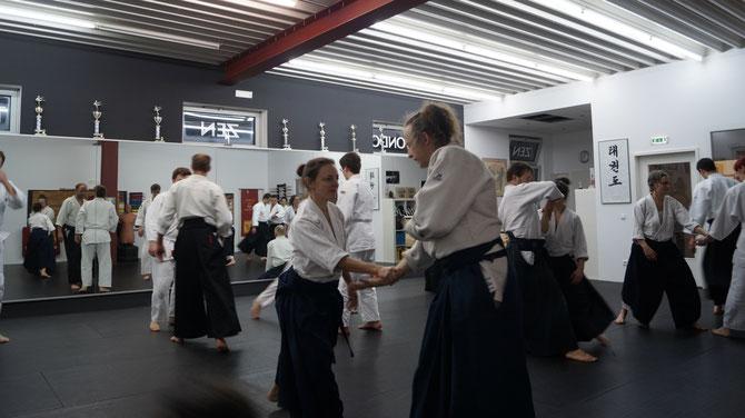 Aikido-Stunde