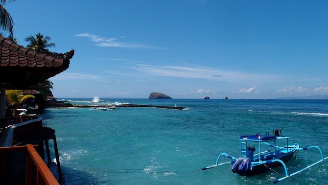 Giri Tepekongや Mimpang島の見えるSub Ocean