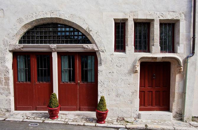 Maison du XVIème siècle,classée Monument Historique.