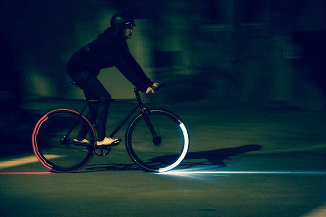 Светящиеся велосипедные колёса