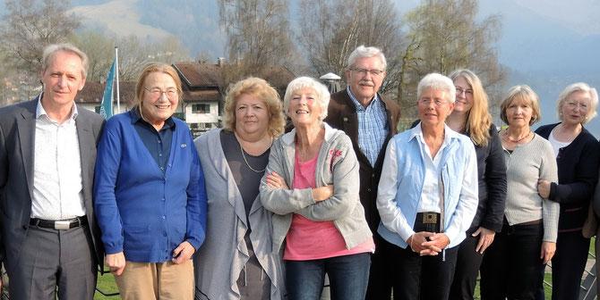 Vorstands- und Beiratsmitglieder der NachbarschaftsHilfe Schliersee - Neuwahl am 2. April 2017