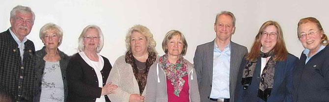 2015: Neugewählter Vorstand und Beirat der NachbarschaftsHilfe Schliersee