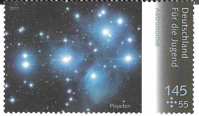 Plejaden-Briefmarke