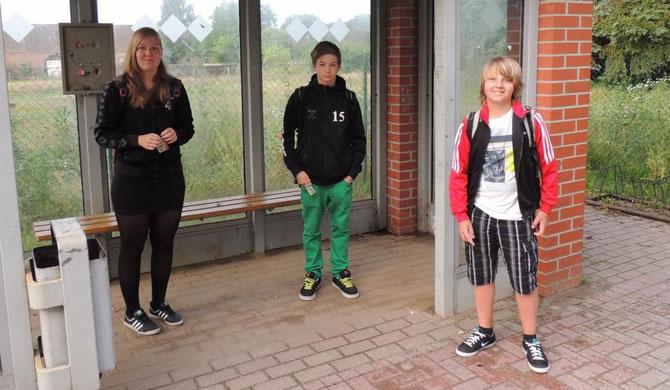 Luci, Moritz und Daniel