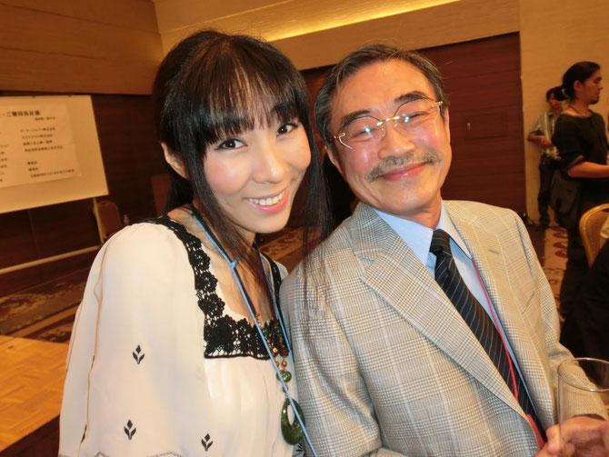 西塔紅美さんと、ごきげんの永井一郎さん
