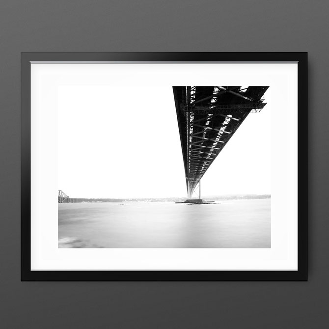 Minimal architecture photography 'Forth Bridge' by PASiNGA