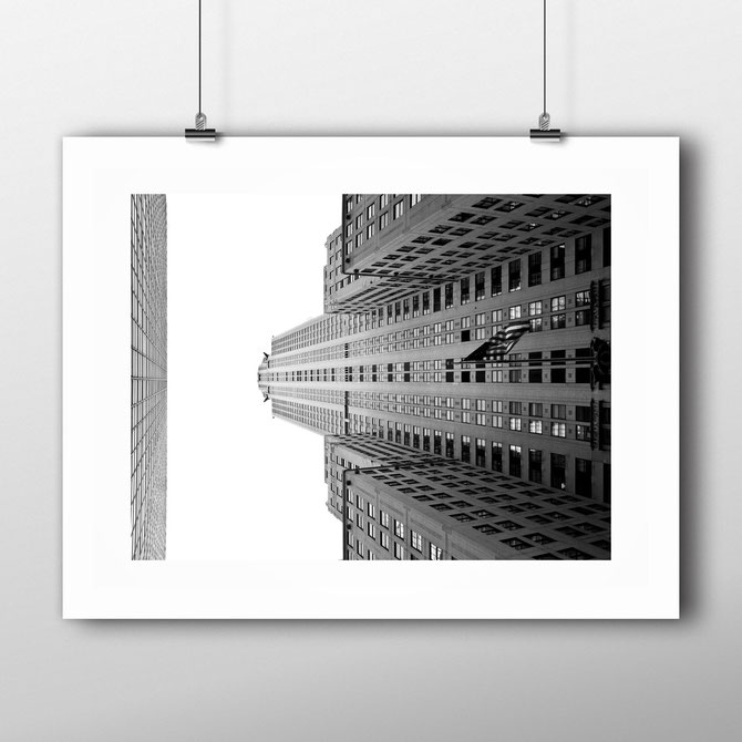 Architecture Art Print 'Chrysler Building' by PASiNGA