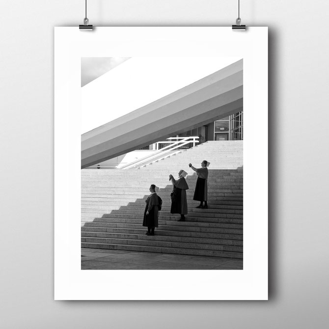 Street Photography Print  'Taking Pictures' by PASiNGA