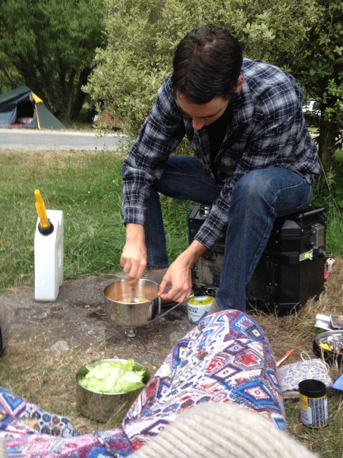 Camping Dinner