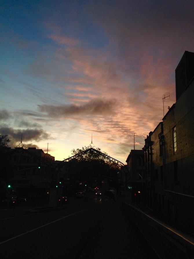 Sonnenuntergang - nicht wie Abel Tasman
