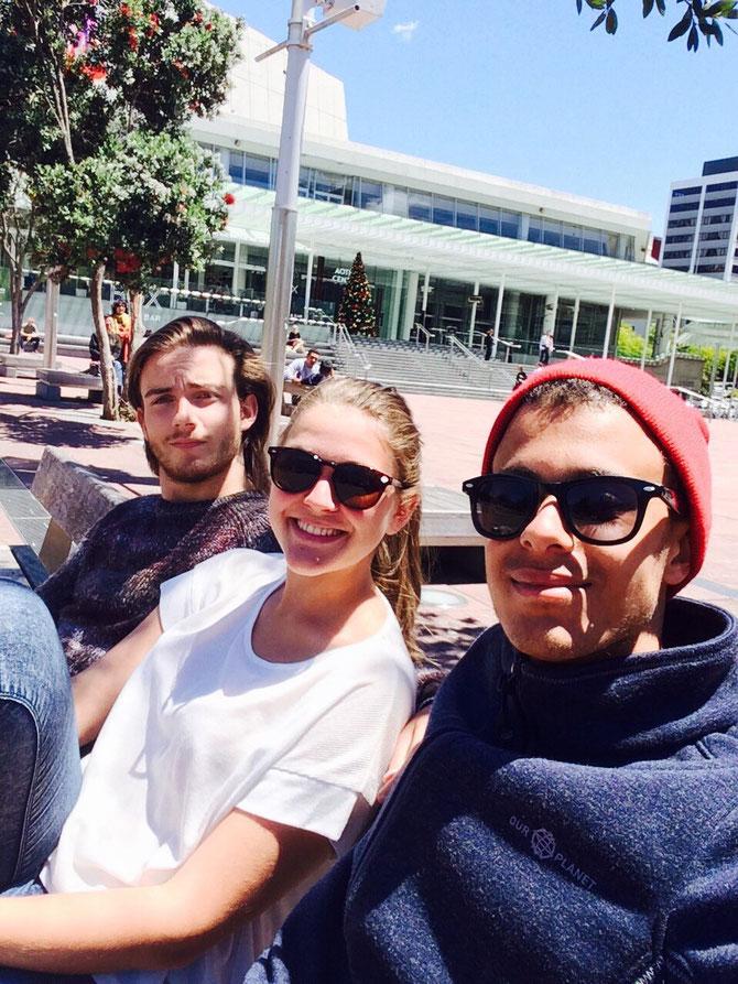 Wiedertreffen in Auckland!