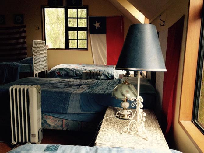Meine Ecke im Dorm-Raum