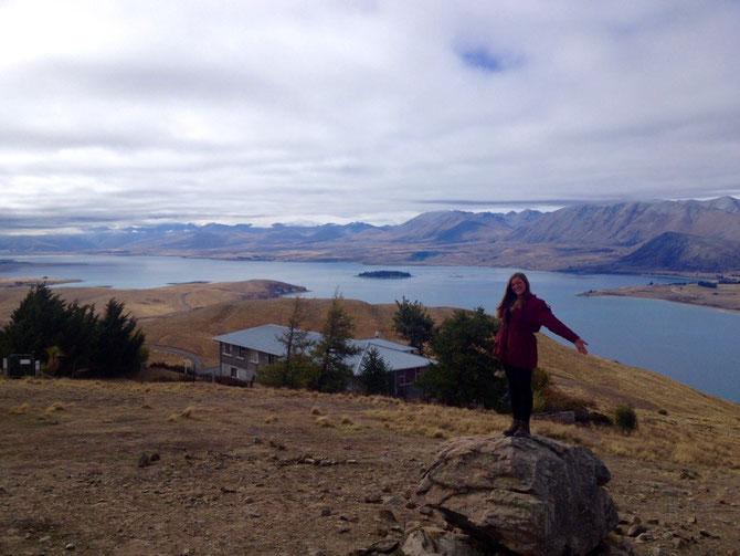 Tata Lake Tekapo von oben!
