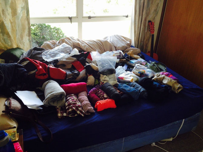 Packen - und das war noch nicht alles!