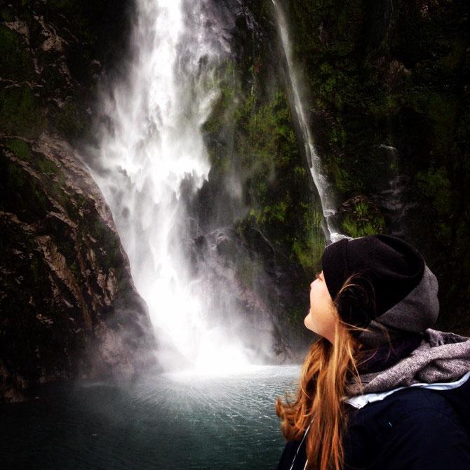 Wasserfall!