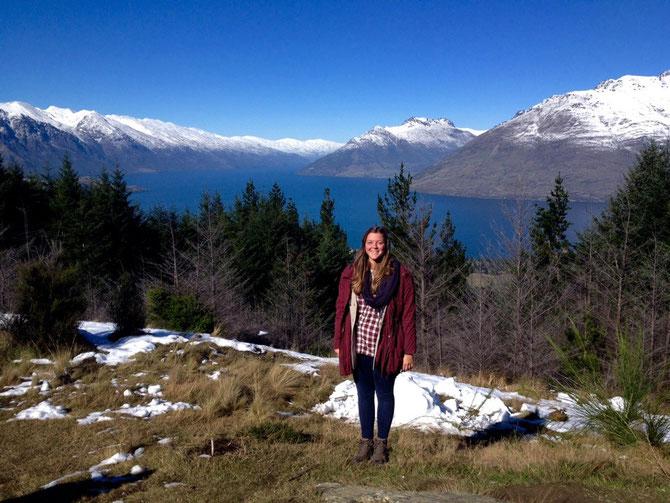 Oben angekommen! Lake Wakatipu