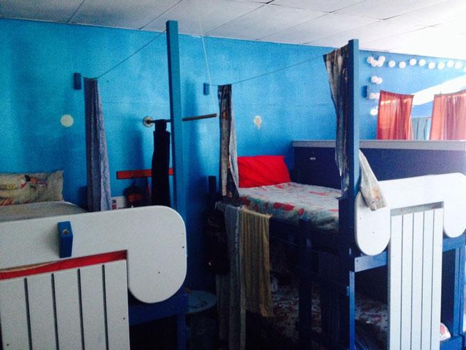 Unser süßes Hostel