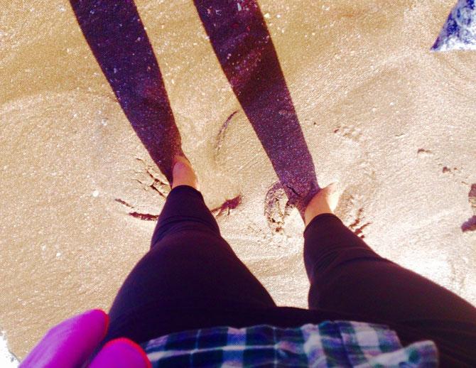 Heiß unterm Sand!