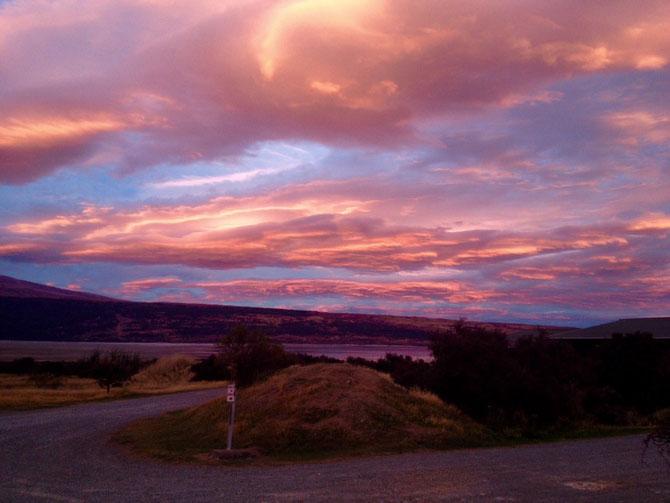 Der Himmel in meinem Holidaypark - Lake Pukaki
