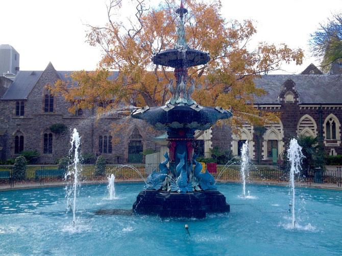 Brunnen im Botanischen Garten