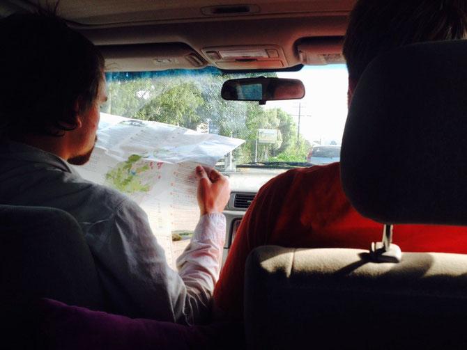 Erster Trip - Auf zum Takaka Hill mit Bruno & Sven