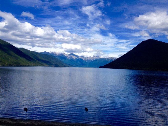 Erster Lake!