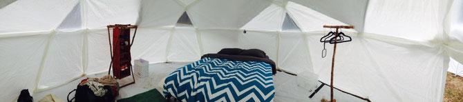 Mein neues Zelt!
