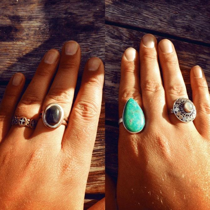Meine neue Ringkollektion! 2 habe ich von Leslie geschenkt gekriegt :)