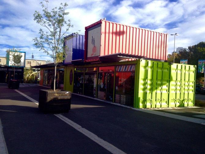 Ein Teil der Container Mall