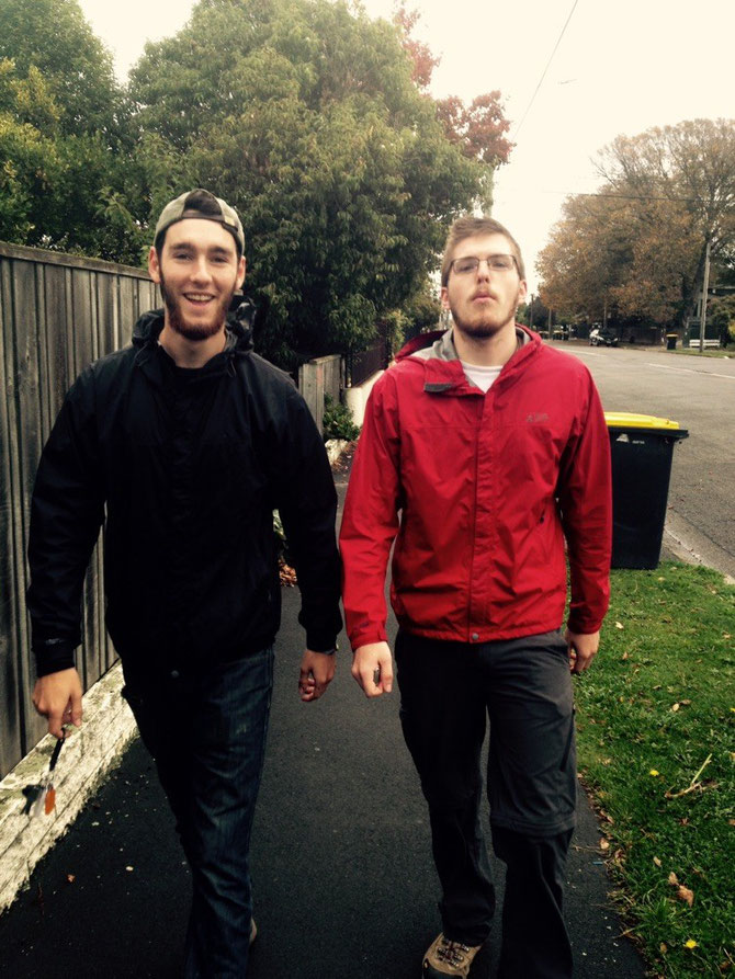 Daniel & Brennan am Posen
