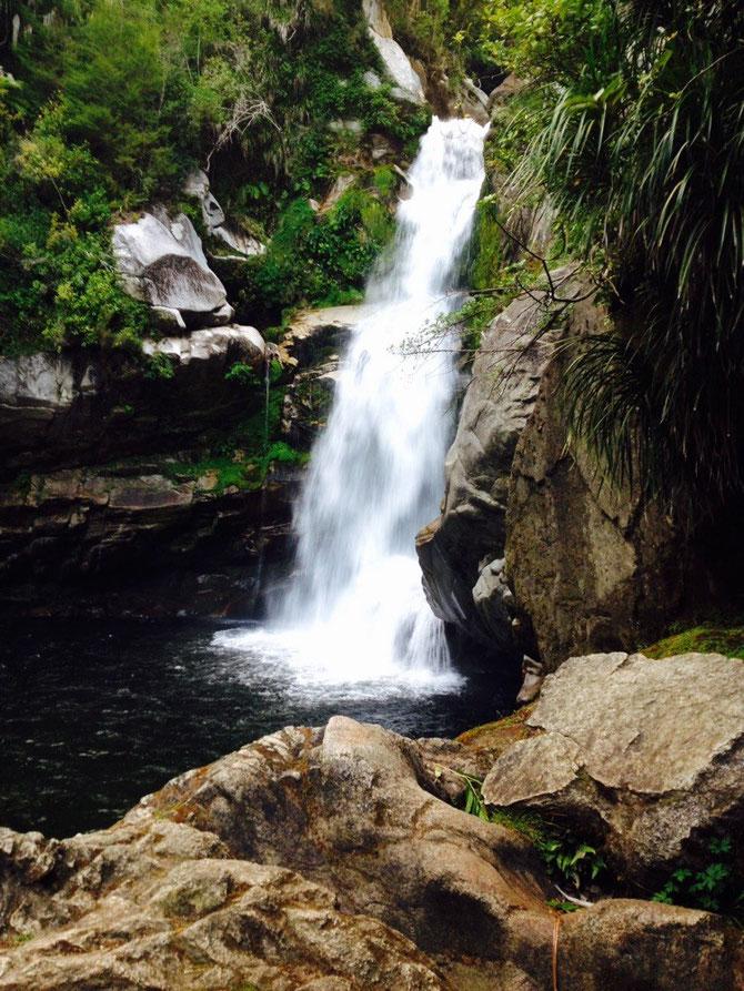 Der Wasserfall!
