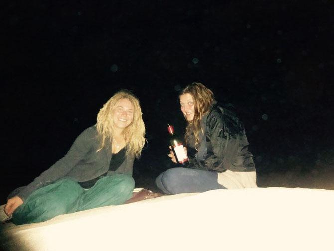 Letzter Abend mit Linda am Strand!