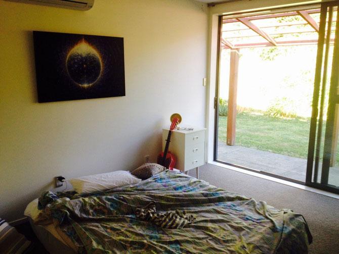 Mein neues Zimmer (bis zum Festival)