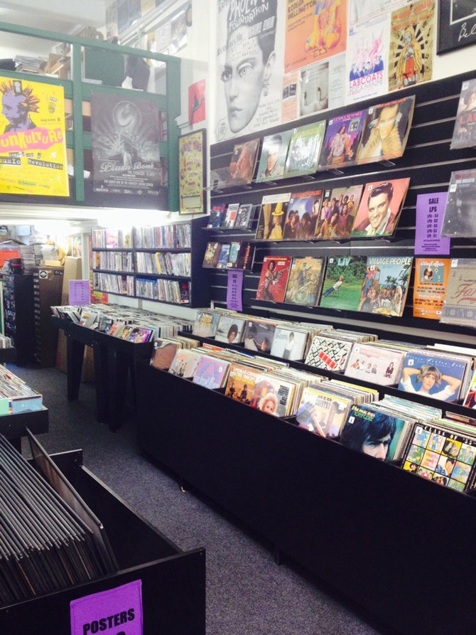 Schallplattenladen!