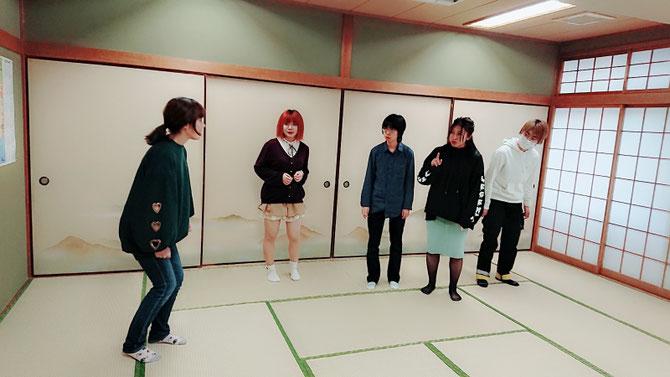 <左から>理緒、齊藤彩乃、ミチノ、Yui、相馬みなも