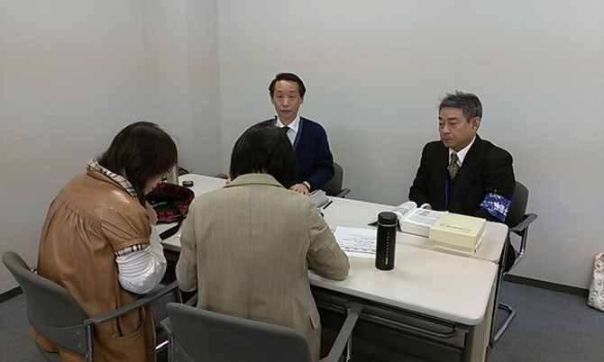 外国人無料相談会(新潟)の様子