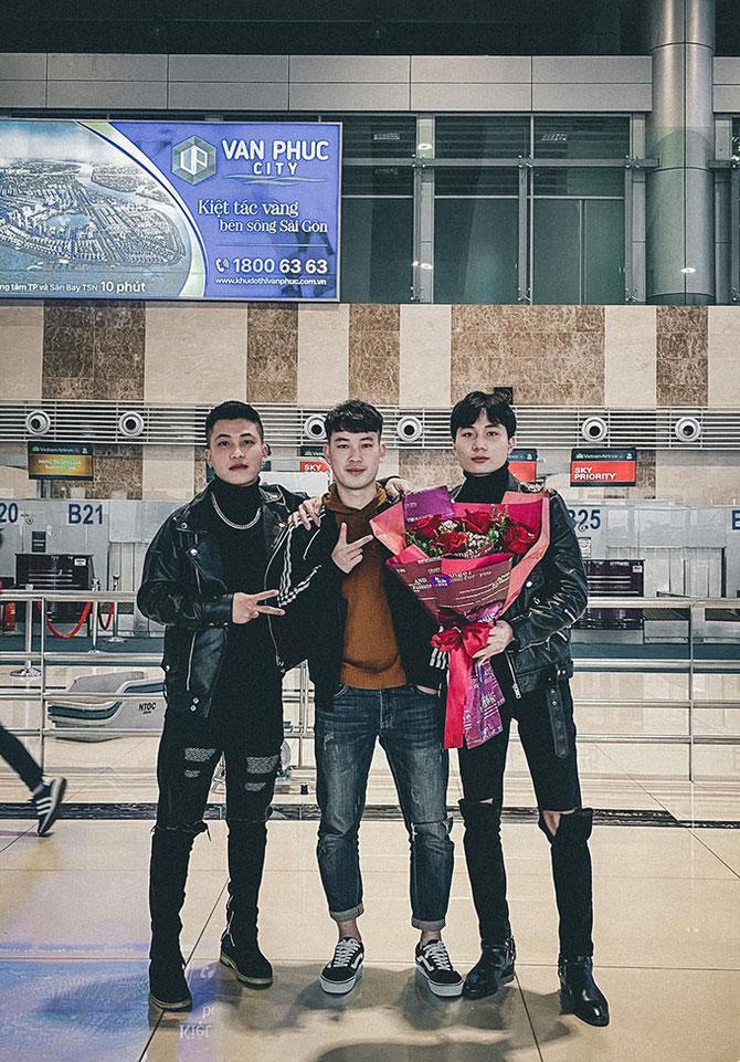 特定技能ビザを持つ3名のベトナム人さんがハノイ→ホーチミン経由で来日。新潟へ。