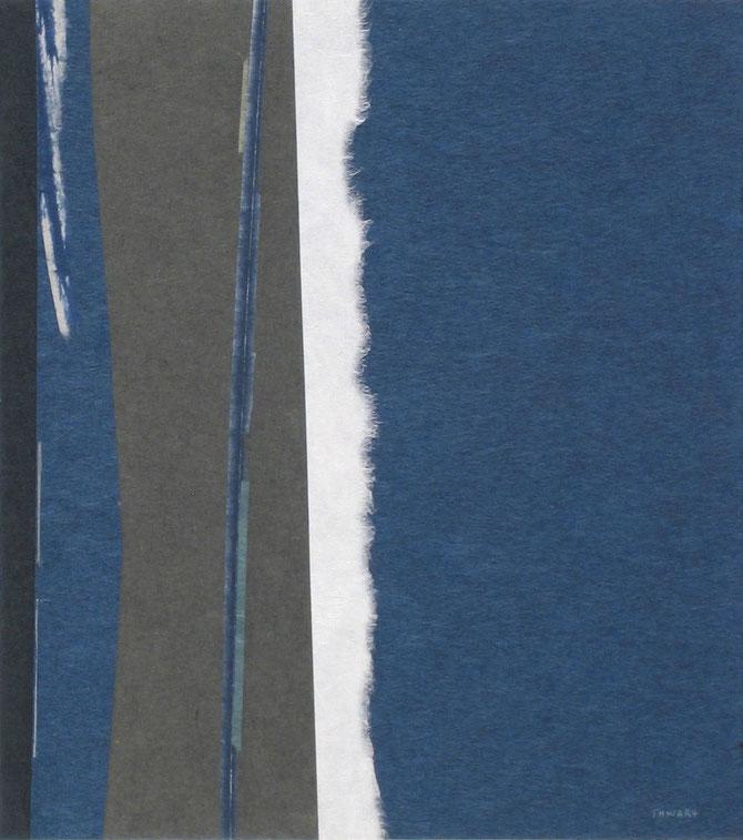 H19C05 Indigo. 27 x 24 cm