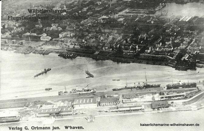 Seeflieger Fliegerdeich Seefliegerstation Marineflieger Wilhelmshaven