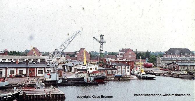 Strombauhafen Jadewerft Ems-Jade-Kanal Wilhelmshaven
