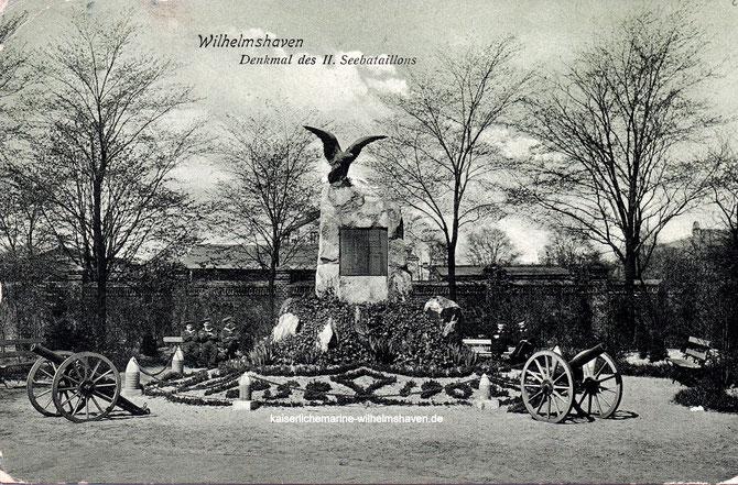 Seebataillonsdenkmal Seebataillon Denkmal Wilhelmshaven