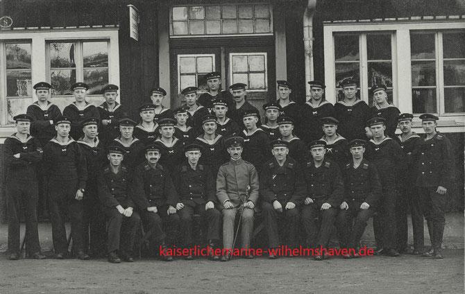 Marine-Schall-Messtrupp - XIV. Matrosenartillerieabteilung, Schillig