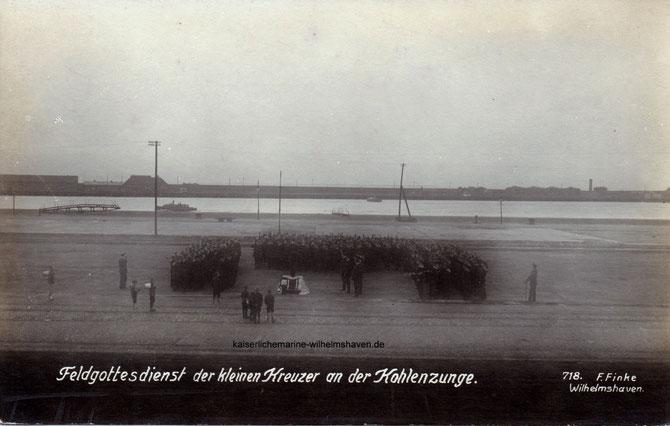 Kohlenzunge Wiesbadenbrücke Wilhelmshaven