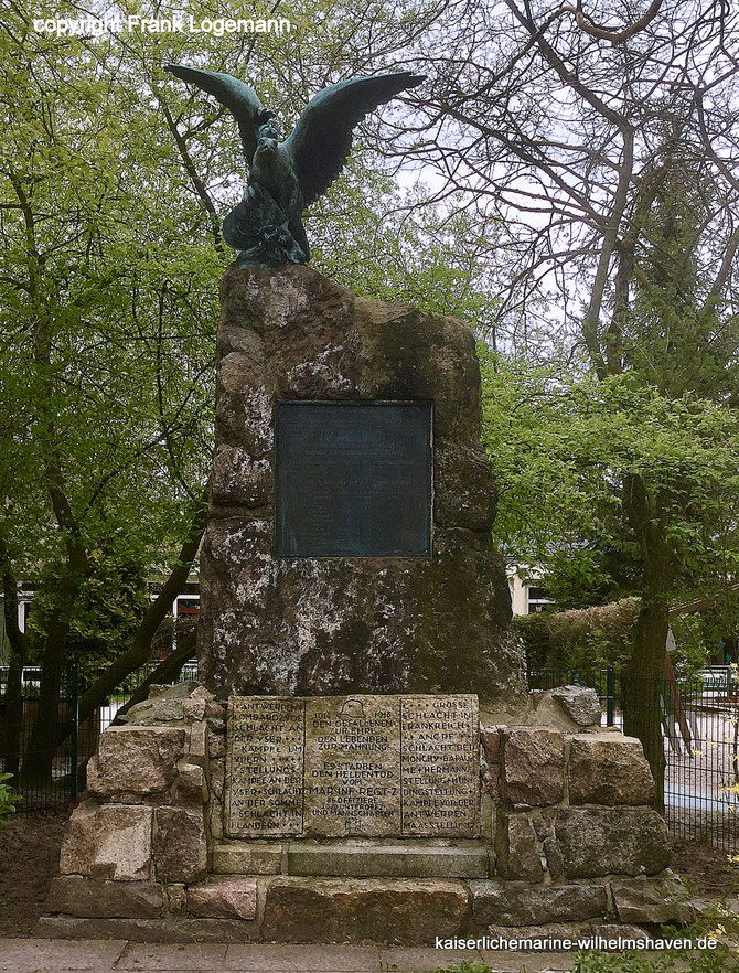 Seebataillonsdenkmal Wilhelmshaven Seebataillon Denkmal