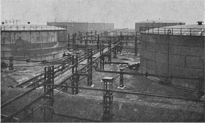 Sander Ölanlage Wilhelmshaven Öltanks