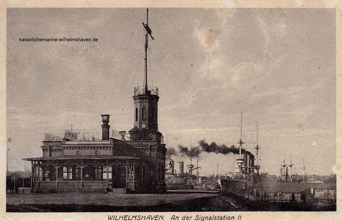 Signalstation Erste 1. Einfahrt Wilhelmshaven