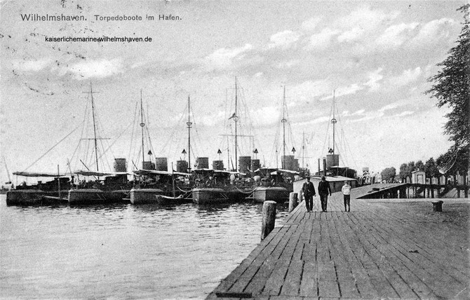 Gazellebrücke Bontekai Wilhelmshaven