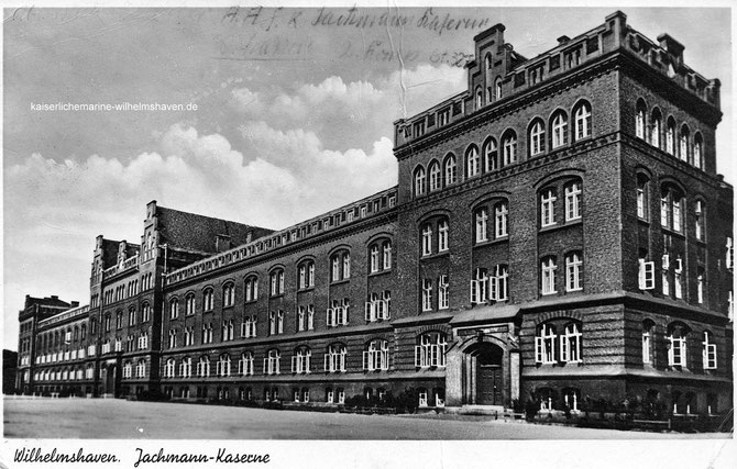Tausenmannkaserne, 1000-Mann-Kaserne, Jachmann-Kaserne Alaska Kasernen Wilhelmshaven
